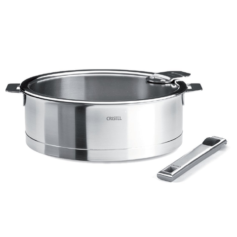 CRISTEL STRATE 4.5-QUART SAUTE PAN SET