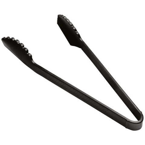 KUHN RIKON SILICONE SCALLOPED TONGS - GRAPHITE
