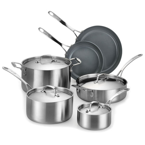 Lagostina Axia 10-Piece Cookware Set