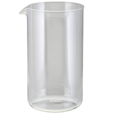 BONJOUR 8-CUP REPLACE GLASS CARAFE - CLEAR