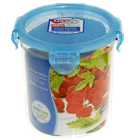 LOCK & LOCK BISFREE ROUND CONTAINER 3 CUPS