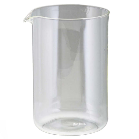 Bonjour 12-Cup Replacement Glass Carafe - Clear