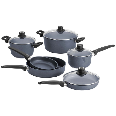 WOLL DIAMOND PLUS/DIAMOND LITE 10-PIECE INDUCTION COOKWARE SET