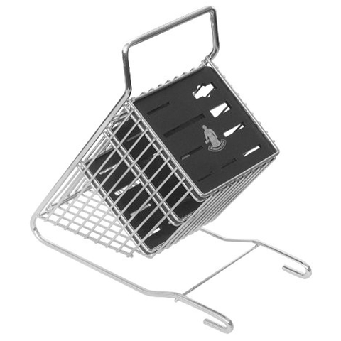 Messermeister 9-Slot Metal Knife Block