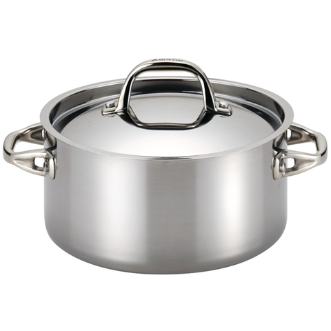 ANOLON 5-QUART COVERED DUTCH OVEN