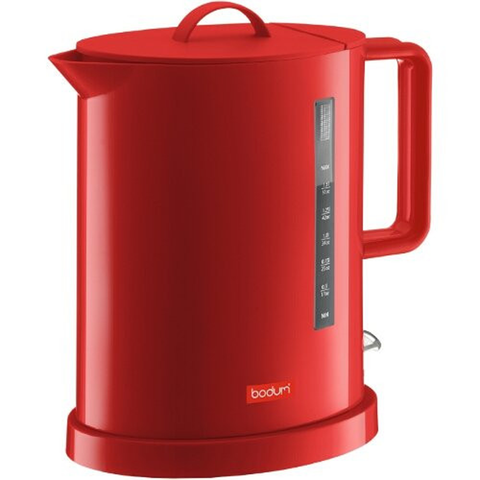 BODUM IBIS 1.7-LITER ELECTRIC WATER KETTLE - RED