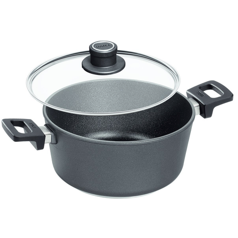 Woll Titanium Nowo 4-3/4-Quart Saucepan With Detachable Handle And Lid