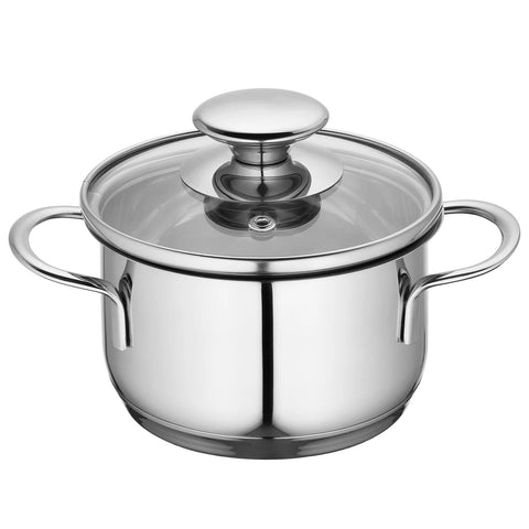 "Kuchenprofi ""Mini"" 1.6-Quart Stockpot with Glass Lid"