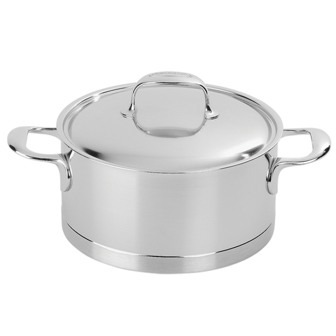 DEMEYERE ATLANTIS 5.5-QUART STAINLESS STEEL DUTCH OVEN