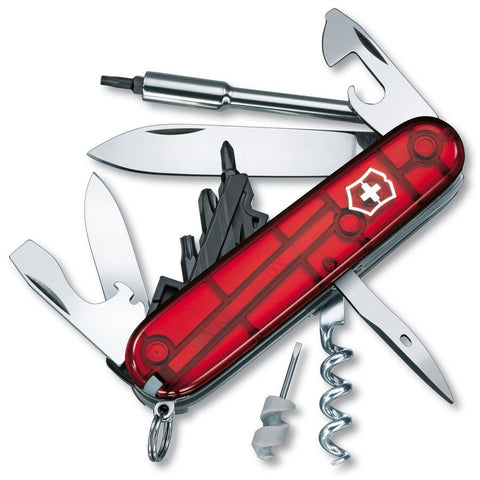 Victorinox Swiss Army Cybertool S, 27 Functions, Ruby