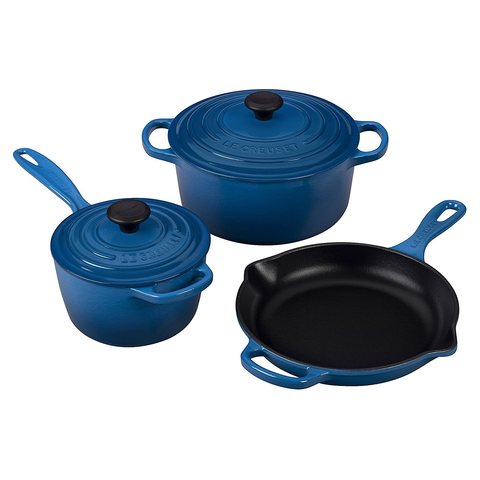 LE CREUSET 5-PIECE SIGNATURE SET - MARSEILLE