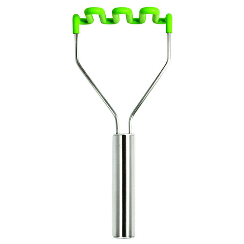 Tovolo Silicone Potato Masher - Spring Green