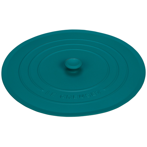 "LE CREUSET 11"" SILICONE LID - CARIBBEAN"