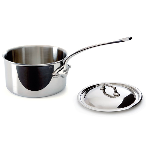 MAUVIEL M'COOK STAINLESS STEEL SAUCEPAN & LID