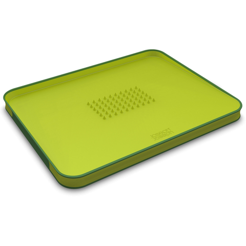 JOSEPH JOSEPH CUT&CARVE PLUS NON-SLIP, MULTI-FUNCTION CHOPPING BOARD