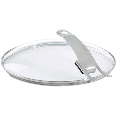 FISSLER PREMIUM GLASS LID WITH INTEGRATED HOLDER