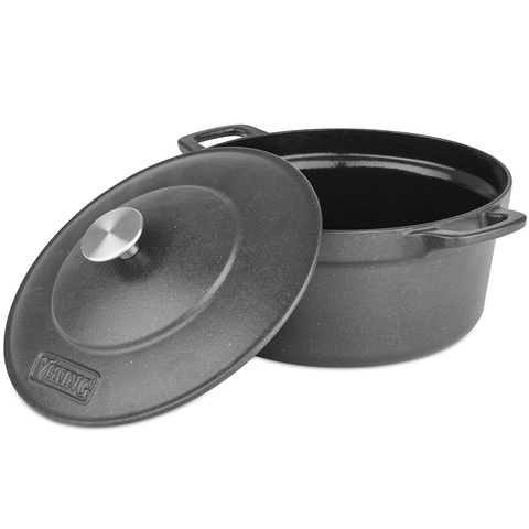 VIKING 5-QUART DUTCH OVEN, CAST IRON