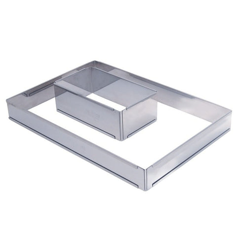 De Buyer Stainless Steel Expandable Frames - h 7,5 cm