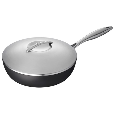 SCANPAN PROFESSIONAL 2.75-QUART COVERED SAUTE PAN