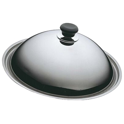 SCANPAN CLASSIC 11'' STAINLESS STEEL WOK LID