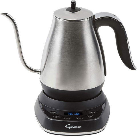 Capresso Stainless Steel 40-Ounce Electric Pour-Over Kettle