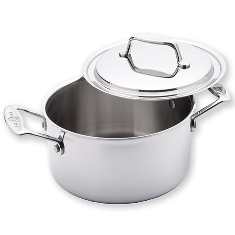 USA PAN 3-QUART STOCK POT WITH COVER