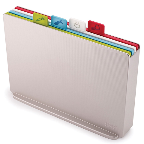 JOSEPH JOSEPH INDEX™ COLOURED-CODED CHOPPING BOARD SET