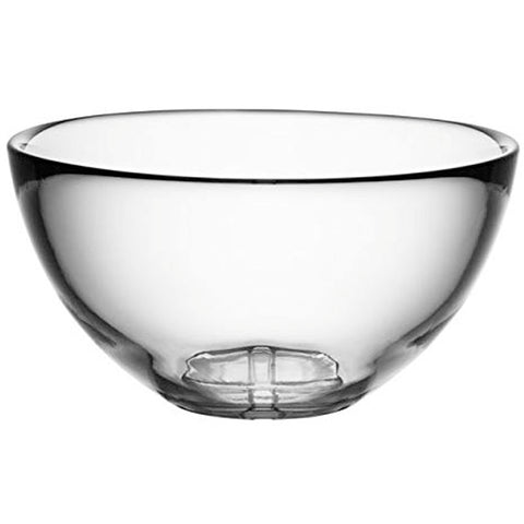 Kosta Boda Bruk Serving Bowl, Clear