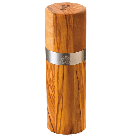 BERARD ACERO OLIVE WOOD PEPPER MILL