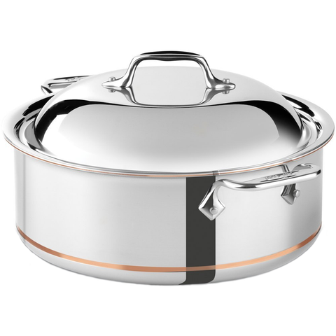 ALL-CLAD COPPER CORE® 6-QUART ROUND ROASTER