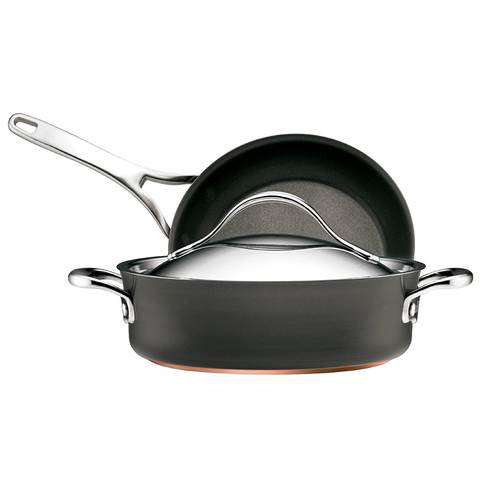 ANOLON 3-PIECE COOKWARE SET