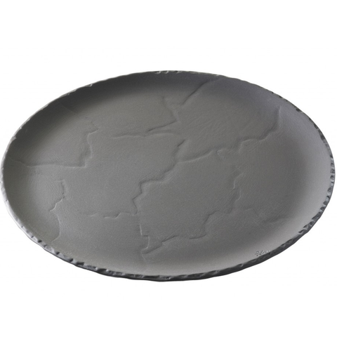 Revol Basalt 641010 Ceramic Pizza Plate With Slate Effect