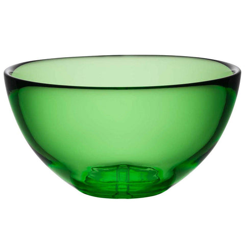 Kosta Boda Bruk Serving Bowl, Apple Green