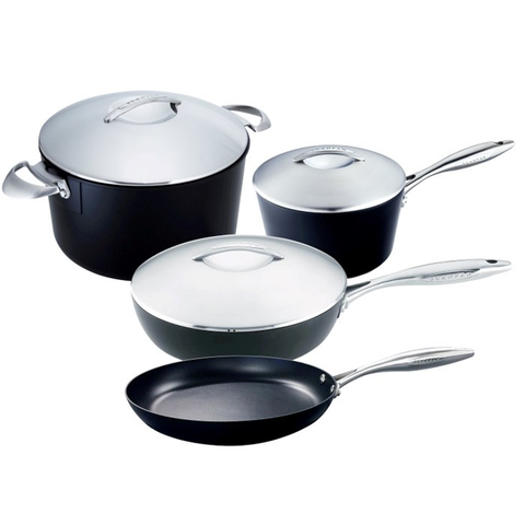 SCANPAN PROFESSIONAL 7-PIECE COOKWARE SET