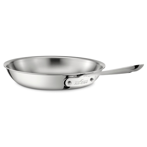 ALL-CLAD STAINLESS STEEL 10'' FRY PAN, 3-PLY BONDED CONSTRUCTION