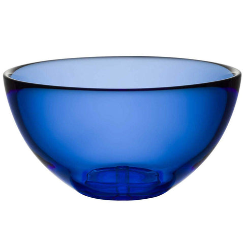Kosta Boda Bruk Serving Bowl, Water Blue