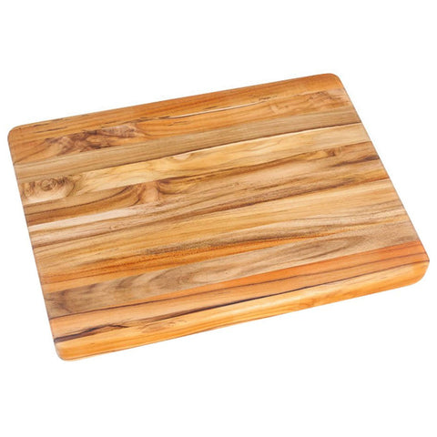 Teakhaus Cutting Board - Rectangle Carving Board With Hand Grip