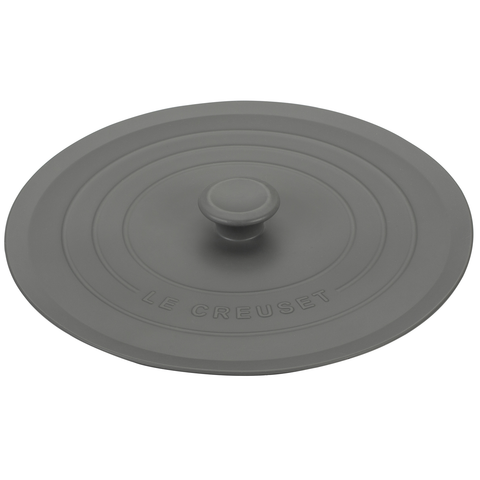 LE CREUSET 8'' SILICONE LID - OYSTER