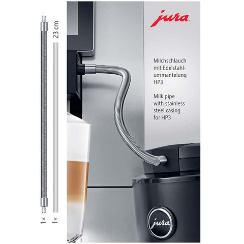 Jura Milk Pipe With Stainless Steel Casing HP3 (GIGA Series)