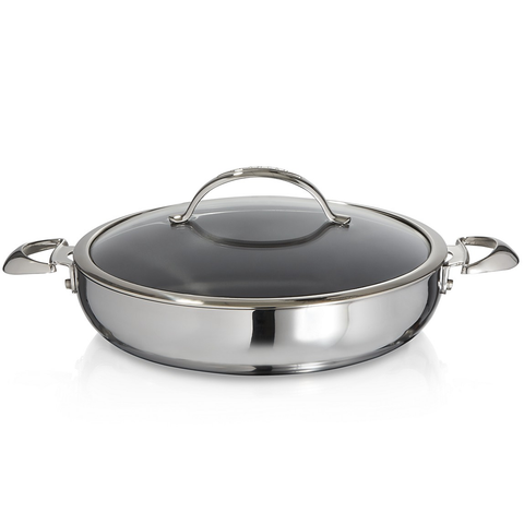SCANPAN CTP COVERED 5.5-QUART CHEF PAN
