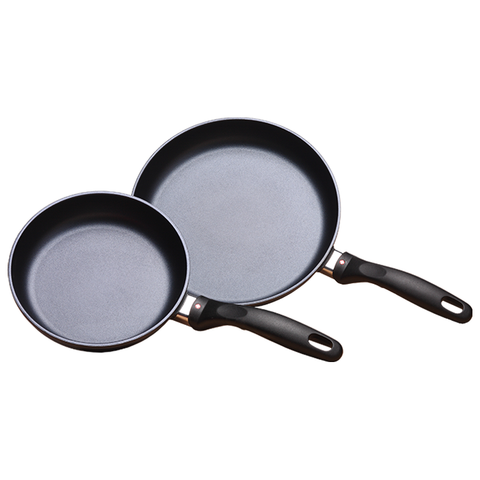Swiss Diamond INDUCTION 2 PIECE SET: FRY PAN DUO - 8 AND 10.25""