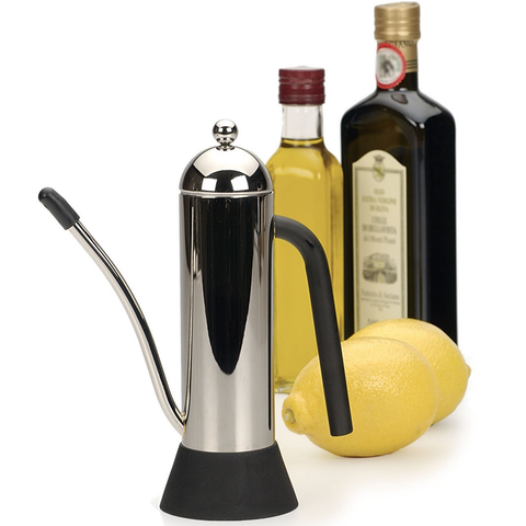 RSVP ENDURANCE 10-OUCE STAINLESS STEEL OIL DECANTER