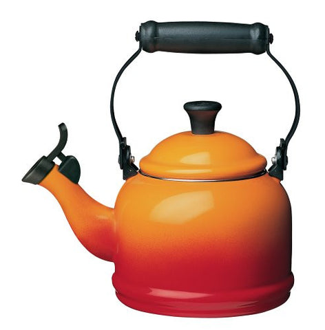 LE CREUSET 1.25-QUART DEMI KETTLE - FLAME