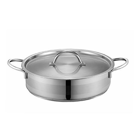 PN Poong Nyun Luce Low Pot, Stainless Steel, 24cm