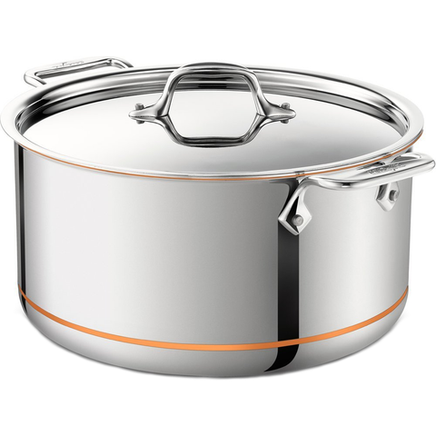 ALL-CLAD COPPER CORE® 8-QUART STOCKPOT
