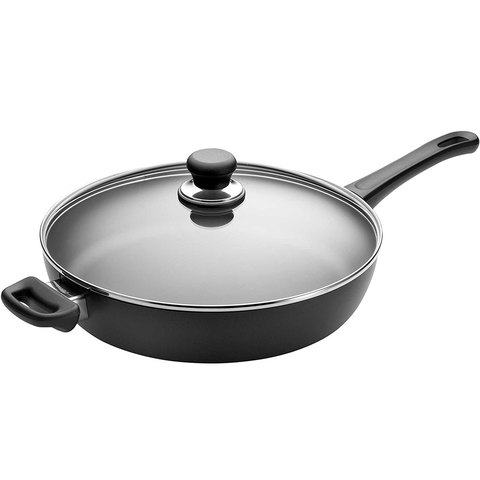 SCANPAN CLASSIC 3.5-QUART SAUTE PAN WITH LID