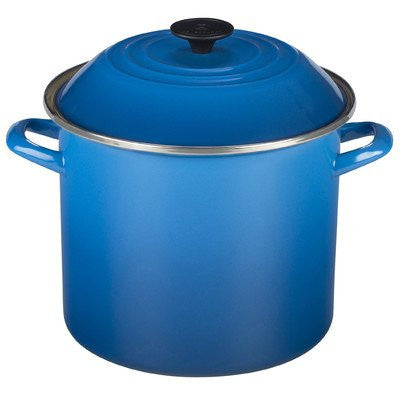 Le Creuset Enamel-on-Steel 8-Quart Covered Stockpot, Marseille