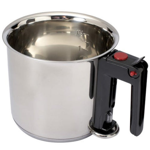De Buyer 3437.16 Stainless Steel Bain Marie Cooker, 16 cm/ 1.5 Liter