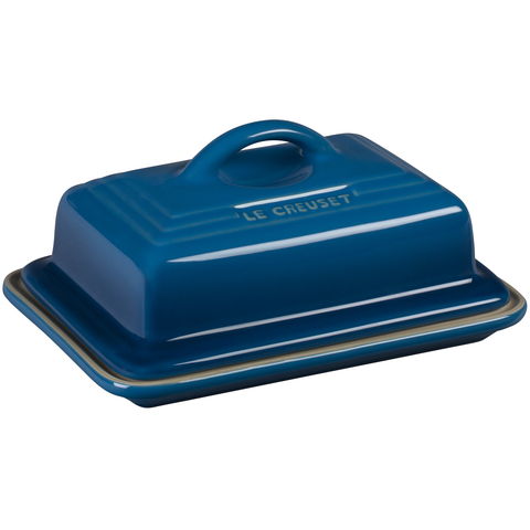 LE CREUSET HERITAGE BUTTER DISH - MARSEILLE