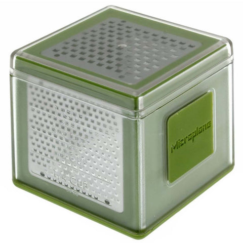 MICROPLANE CUBE GRATER - GREEN